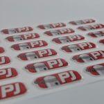 Epoxy/dome stickers