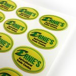 Ernies custom epoxy dome stickers