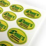 Ernies custom epoxy dome stickers
