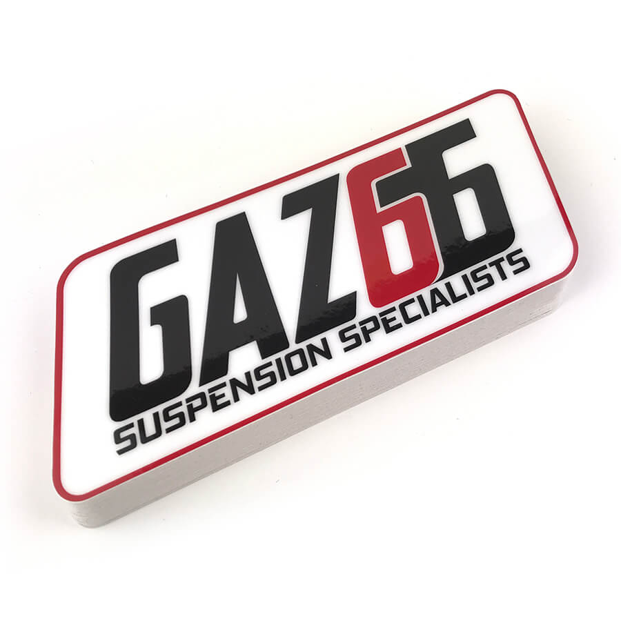 Gaz66 custom heavy duty stickers