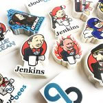 Jenkins mixed satin matte custom stickers