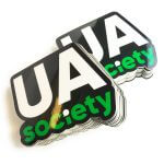 UA society die cut stickers